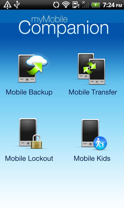 Mobile Backup - screenshot