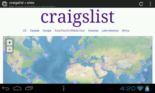 Craigslist Classifieds Search