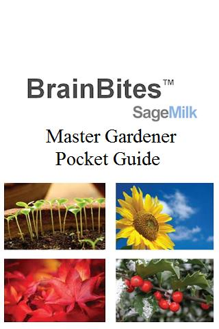 Master Gardener Pocket Guide- screenshot