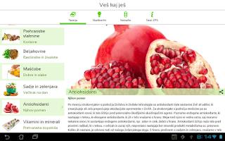 Screenshot of Veš kaj ješ