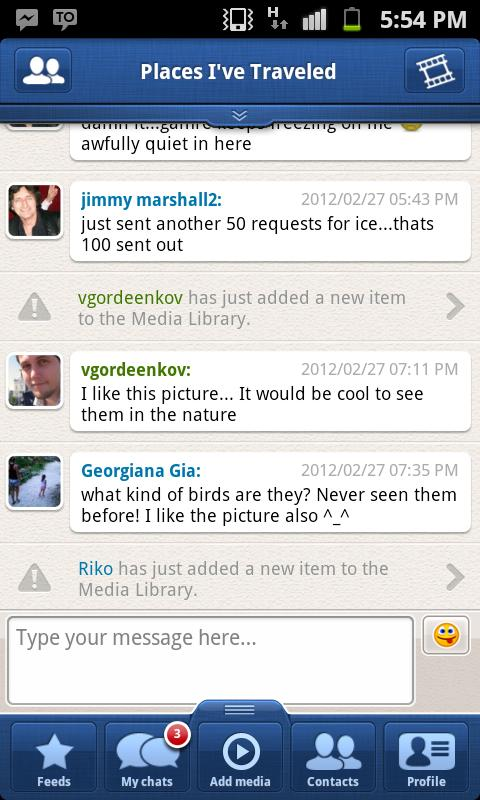 TalkOver Messenger - screenshot