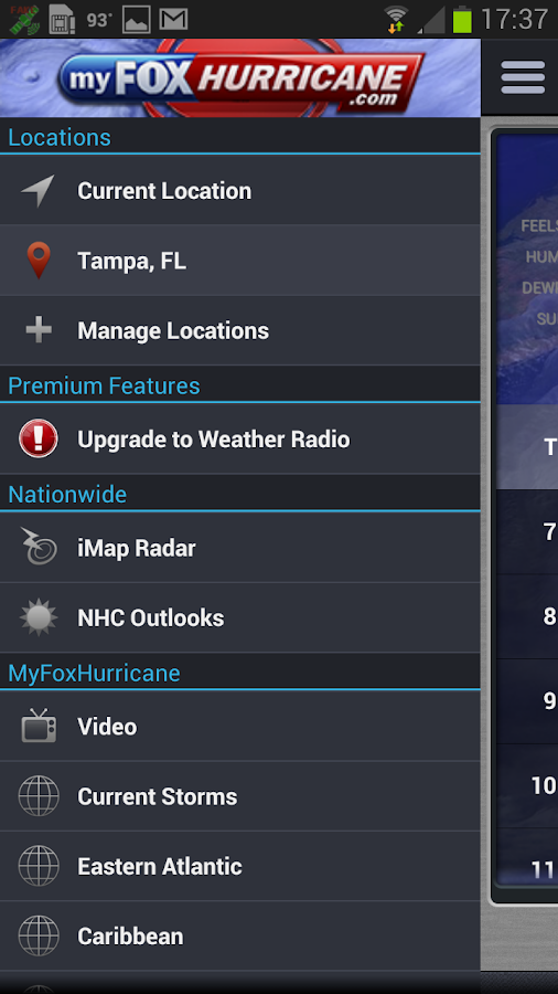 MyFoxHurricane - screenshot