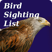 Bird Sighting List
