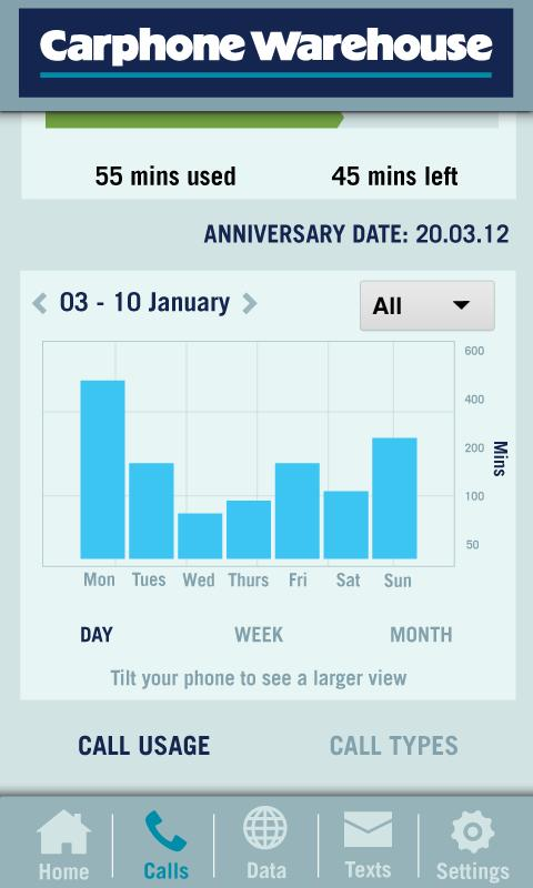 Carphone Warehouse Bill Angel - screenshot