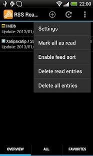 RSS Reader- screenshot thumbnail