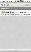 Screenshot of MeYou Geo BETA