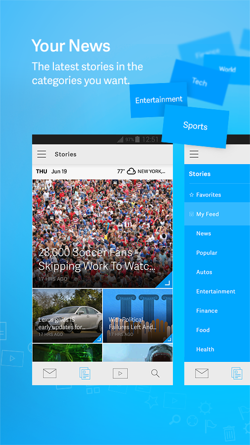 AOL: Mail, News & Video - screenshot