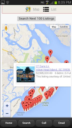 Hilton Head Real Estate App