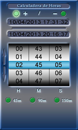 Calculadora de Horas - DOV