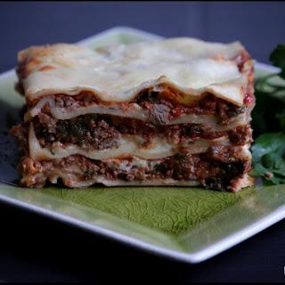 Beef & Vegetable Lasagna