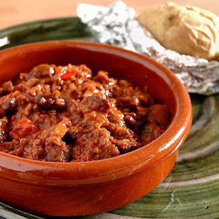 Chocolate Chile con Carne.
