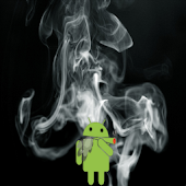 Smoke live wallpaper
