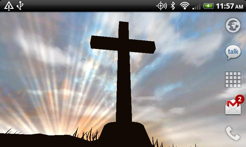 3D Cross Free Live Wallpaper - screenshot