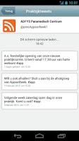 Screenshot of AfsprakenApp