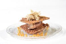 מגדל קרם עוגיות משוקולד