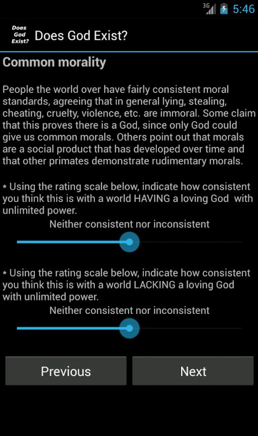 Does God Exist? - screenshot