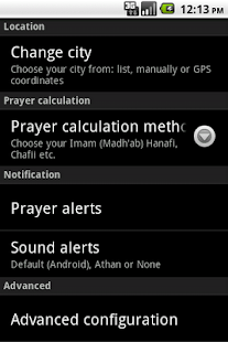 Muslim Salat Widget - screenshot thumbnail