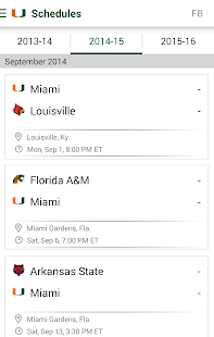 Miami Hurricanes: Free- screenshot thumbnail