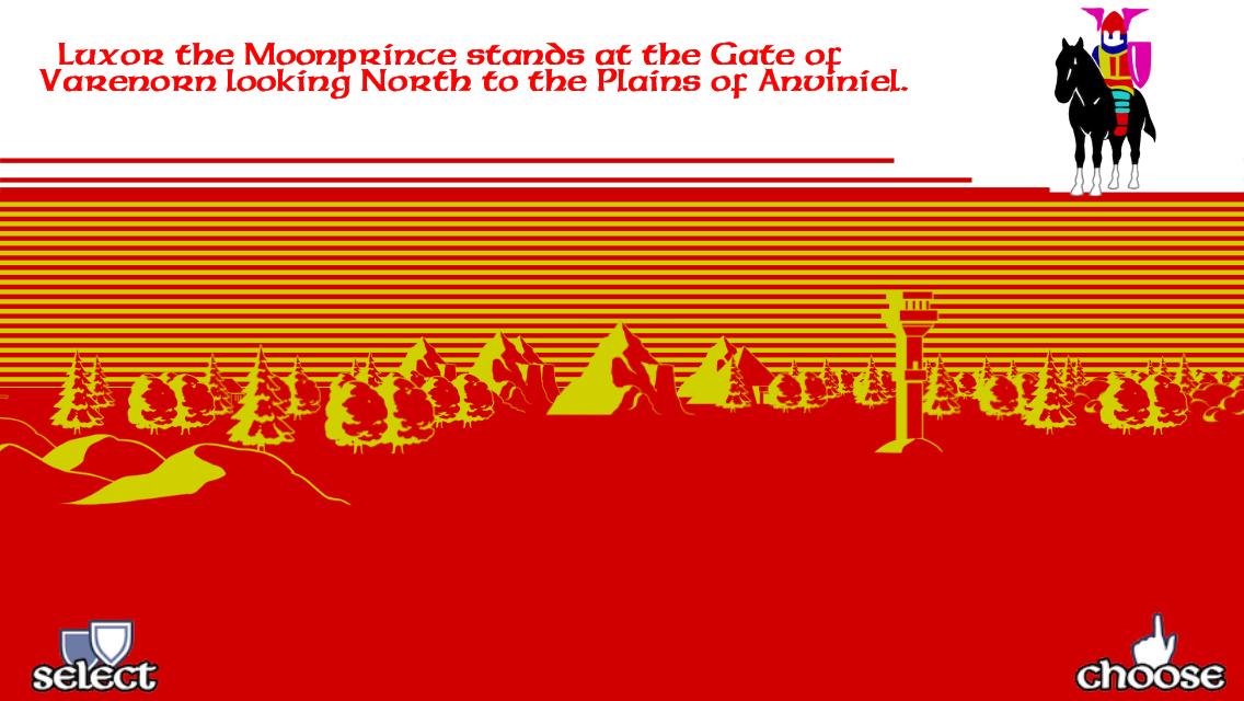 Doomdark's Revenge - screenshot