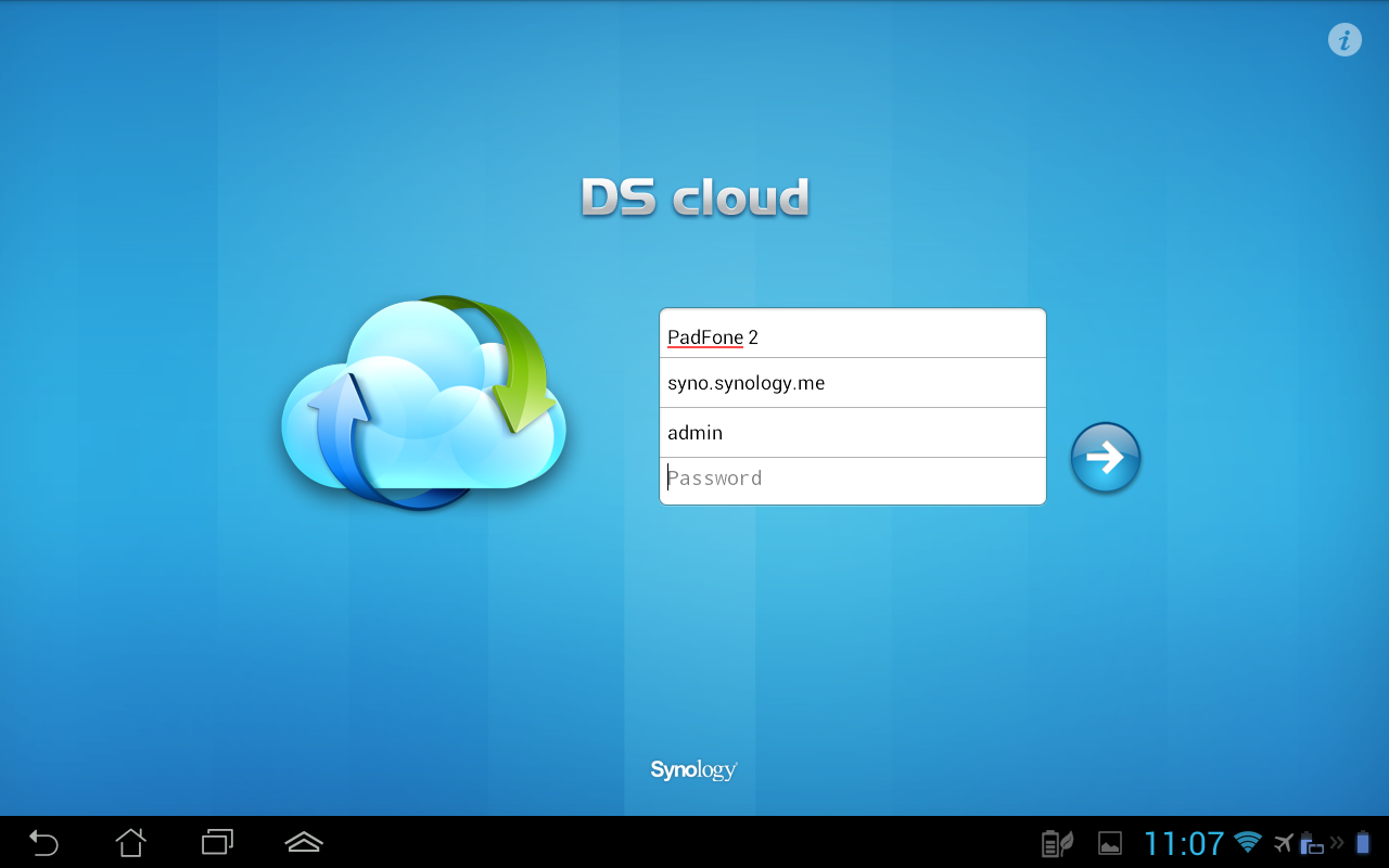 DS cloud- screenshot