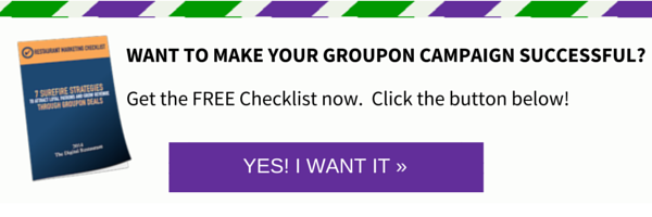 Groupon marketing plan