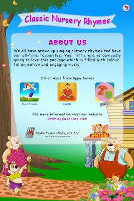 Classic Nursery Rhymes - screenshot