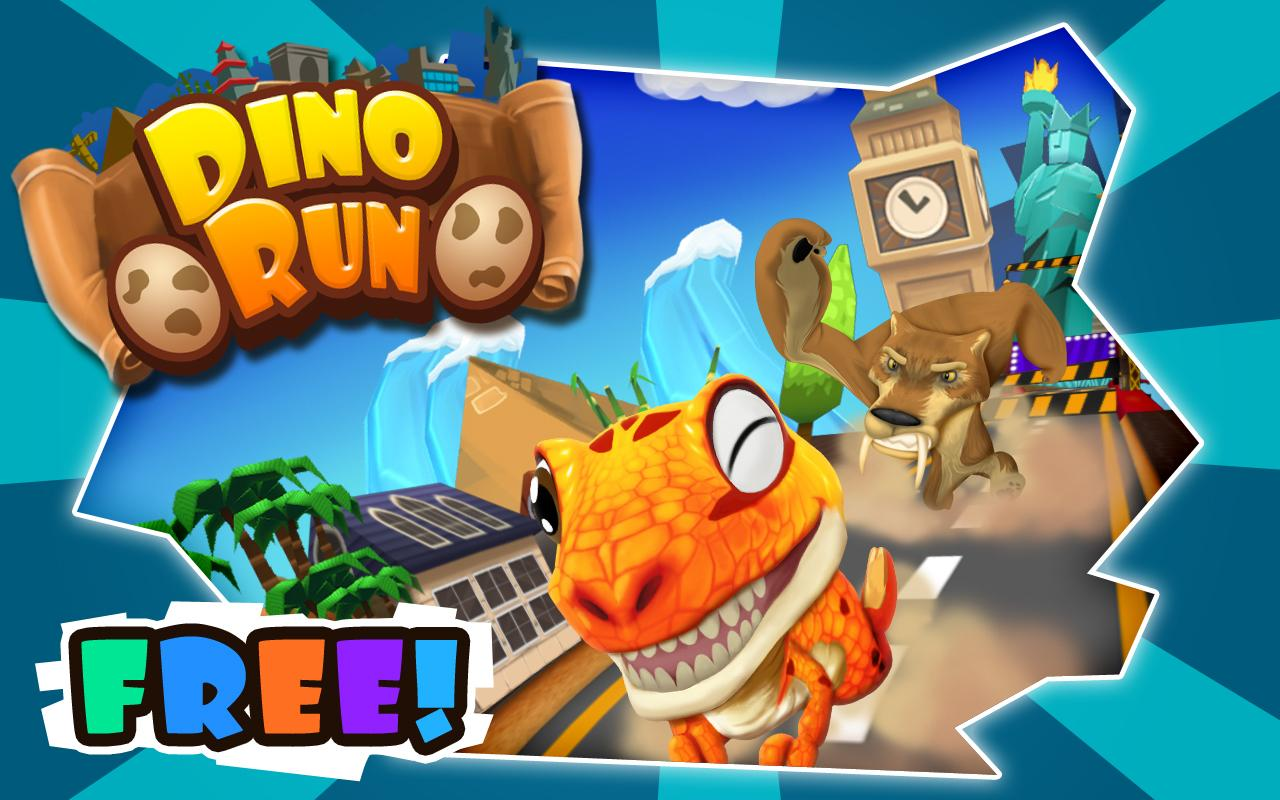 Dino Run: Jurassic Escape- screenshot