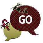 ChristmasPlaidQT/GO SMS THEME icon