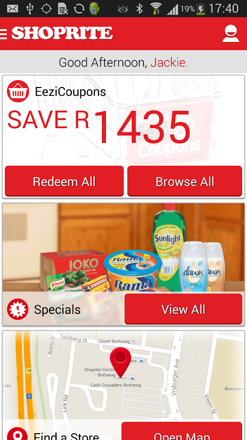 Add coupons to shoprite card