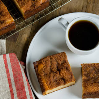 Gluten Free Cinnamon Coffee Cake.