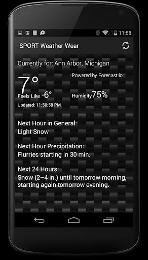 SPORT Weather