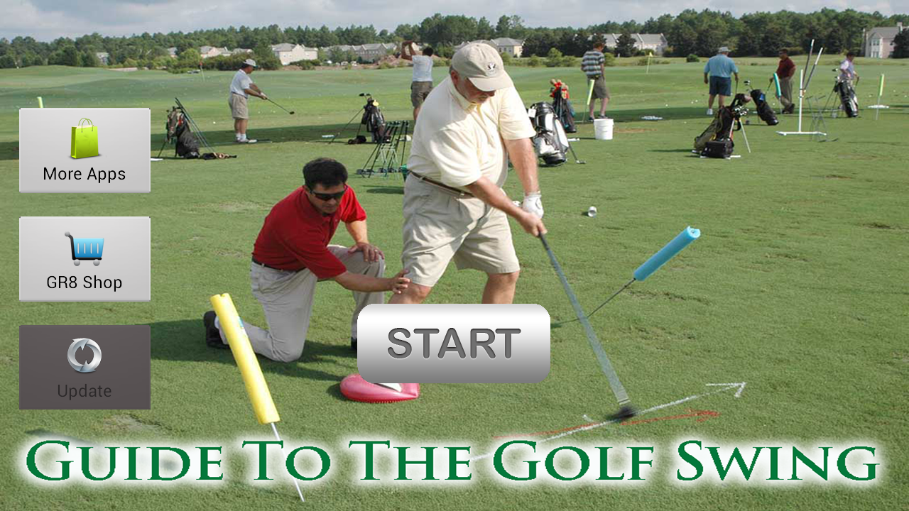 Golf - Guide To The Golf Swing - screenshot