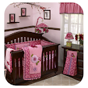 Pink and Brown Baby Room Ideas icon