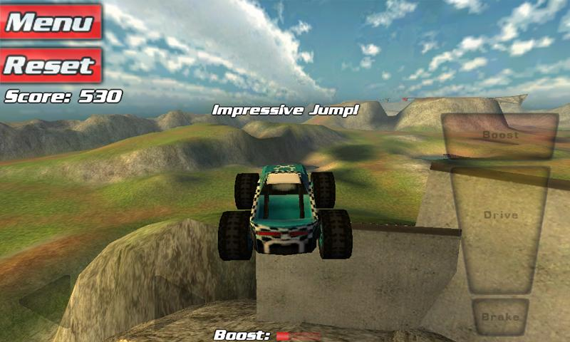 Crash Drive 3D - Offroad race - screenshot