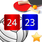 Match Point Scoreboard Pro for Volleyball PingPong icon