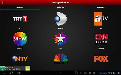 Mobil Canlı Tv- screenshot thumbnail