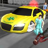 Crazy Driver Ambulance Duty 3D