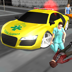 Crazy Driver Ambulance Duty 3D for PC and MAC