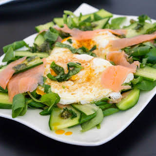 Fried Salmon And Eggs Recipes.