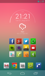 Minarch for Zooper Widget- screenshot thumbnail