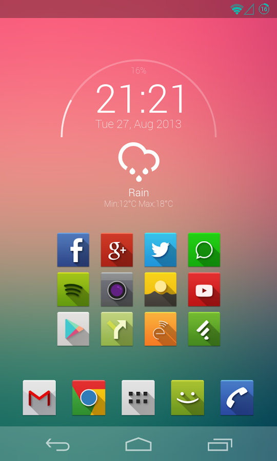 Minarch for Zooper Widget- screenshot