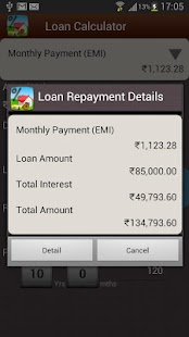 Bank Loan EMI Calculator- screenshot thumbnail