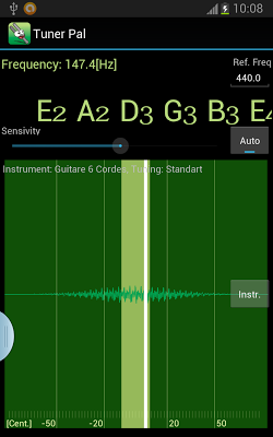 Instrument Tuner Pal - screenshot