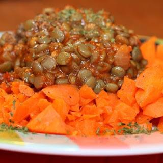 5 Minute Sautéed carrots and Neat Sauce