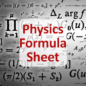 Free Physics Formula Sheet