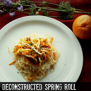 Deconstructed Spring Roll