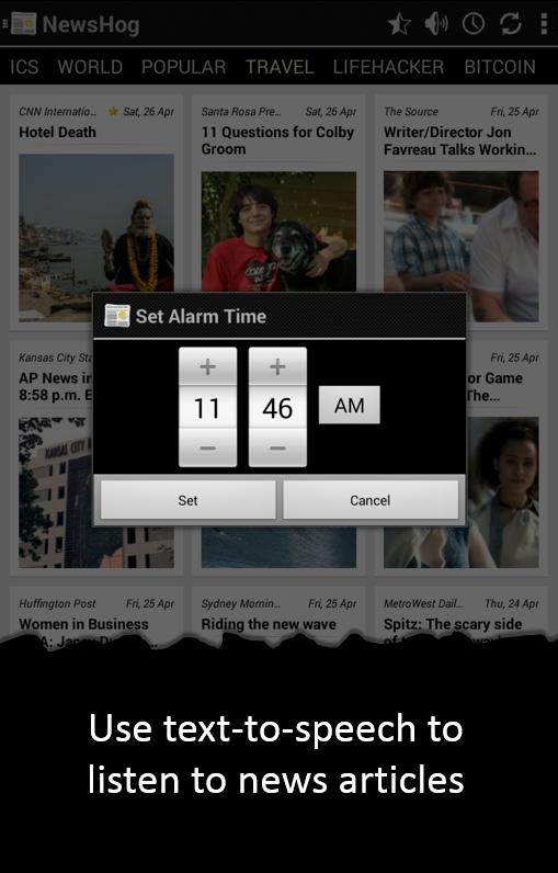 News & Weather - screenshot