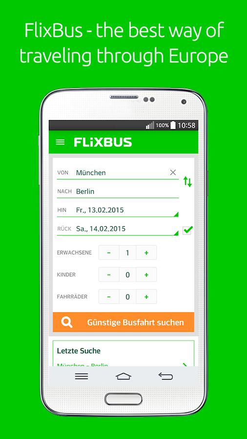 FlixBus - screenshot