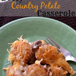 Beefy Country Potato Casserole.