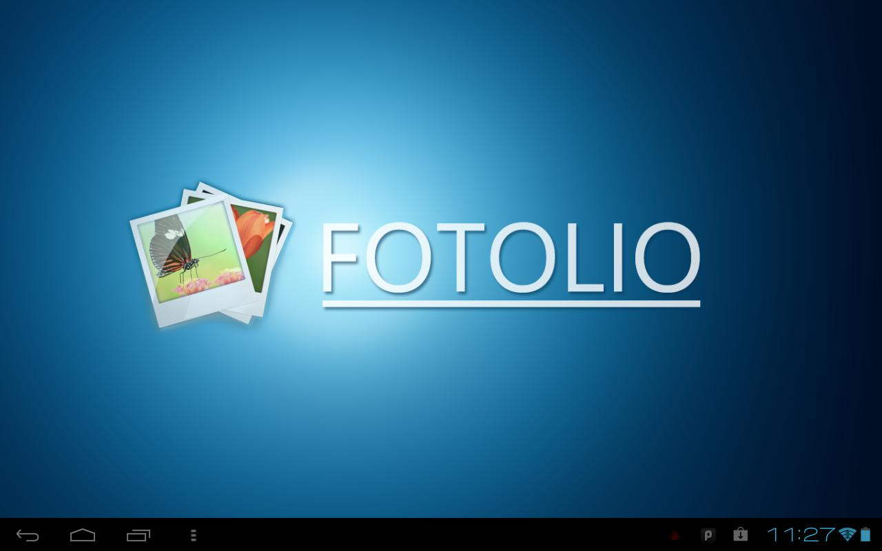 Fotolio - screenshot